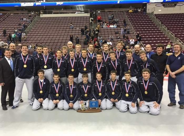 Brookville PIAA Wrestling Champs - Edited